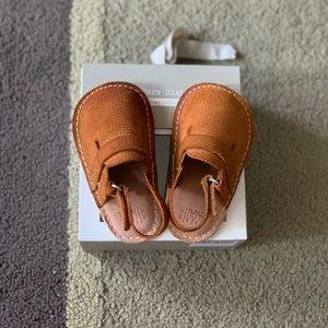 Zara Baby Leather Clogs